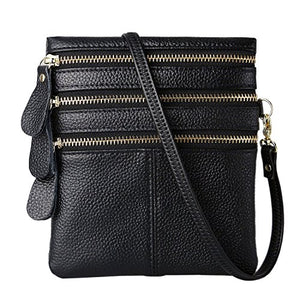 688581435c32 IBFUN Clearance Sale Small Cross Body Purses for Women-Genuine Leather  Multi-pockts Water Resistant Crossbody Bag Shoulder Bag Cell phone Bags