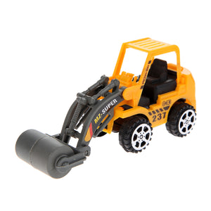 6Pcs Engineering Vehicle Kids Mini Car Toys Lot Vehicle Sets Educational Toys Plastic Engineering Vehicle Model Toys