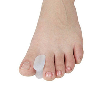 Cerkos Gel Toe Separators Straightener Bunion Toe Protector Which Separates and Protects Dislocated and Overlapping Toes