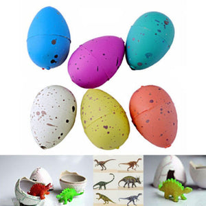 6pcs Kids Toy Dinosaur Eggs Magic Inflatable Hatching Dinosaur Add Water Growing Dinosaur Eggs Hot New