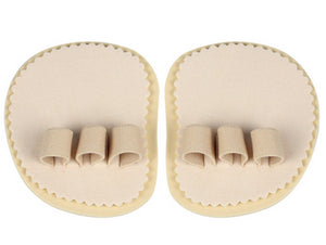 Cerkos Toe Straightener -  Aligns & Straightens Overlapping, Crooked toes, Hammer Toe and Metatarsal Pain Relief - 3 Holes