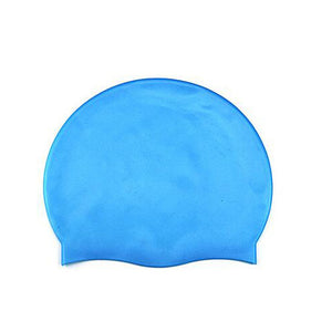 8 Colors Free Size Protect Ears Long Hair Sports Waterproof Swimming Hat Caps Siwm Pool accessories for Unisex Adults Multicolor
