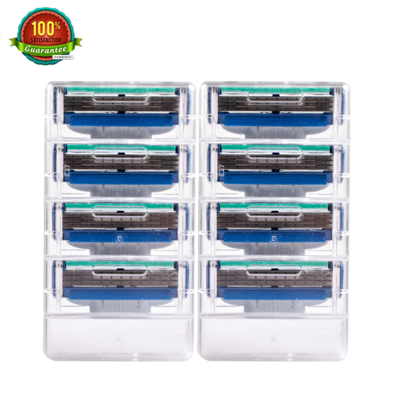 8pcs/lot Shaving Razor Best Quality Grade AAAAA+ Blades Face Care Razor Blade for Men