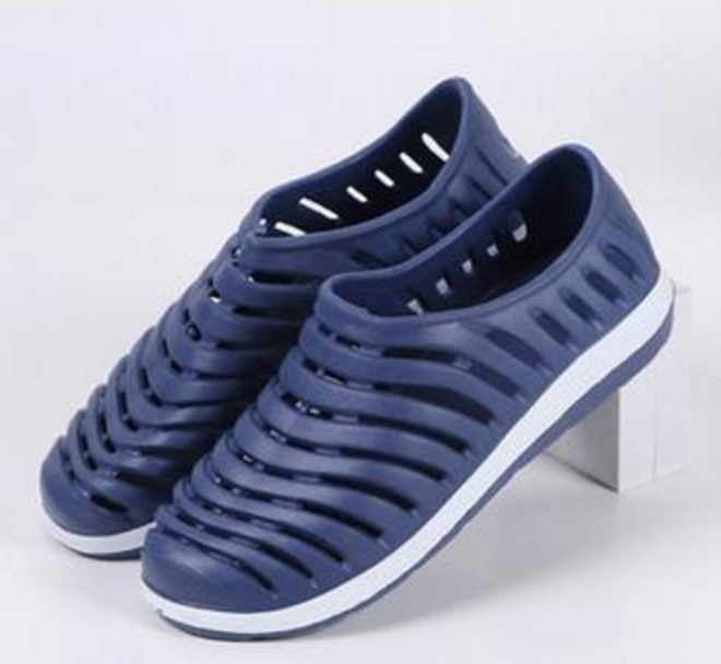 Dose Sandals: Mens Sandal Shoes, Casual Shoes Flats Slip on Sports Rubber Beach Shoes for Men - Cerkos  - 3
