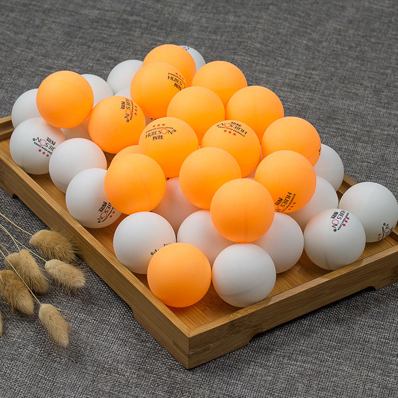 99pcs/lot Yellow and White 3-Star 40mm Table Tennis Balls Ping Pong balls