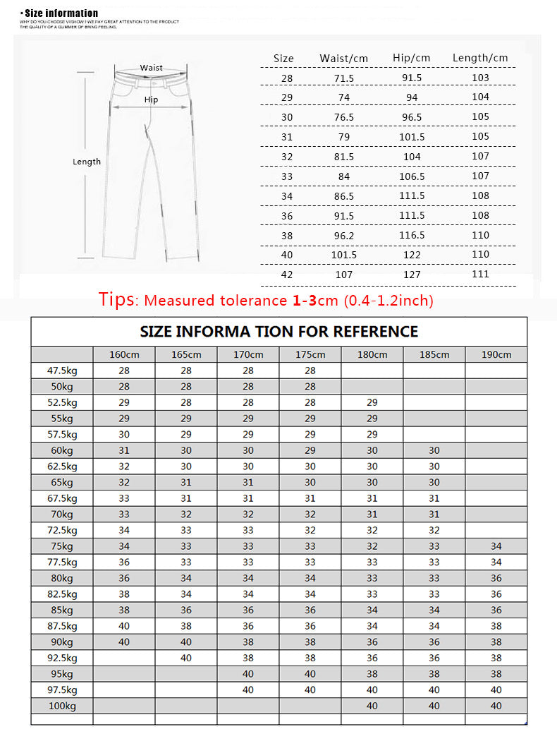 AIRGRACIAS Brand Mens Winter Stretch Thicken Jeans Warm Fleece High Quality Denim Biker Jean Pants Trousers Size 28-42 Hot Sale