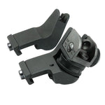 AR15 AR 15 AR-15 Front Rear Sight 45 Degree Rapid Offset Transition Backup Iron Sight Rapid Rifle Sight New 2017
