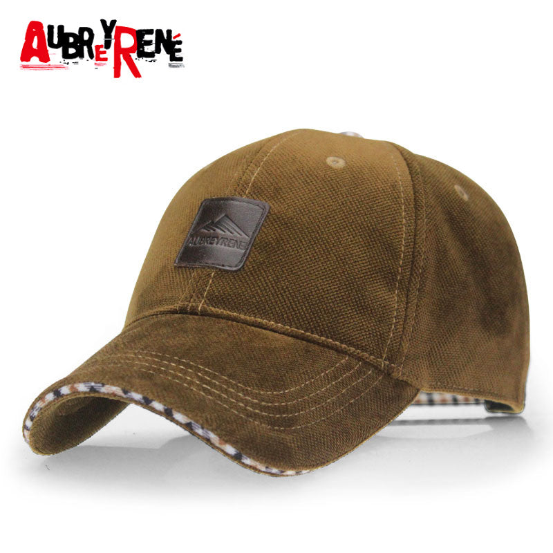 [AUBREYRENE] 2017 Winter Baseball Cap Fashion Hats for Men casquette polo 4 Colors for Choice Z-1937
