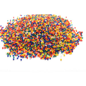Abbyfrank 5000 Pcs Colorful Crystal Soft Bullet Water Gun Bullet Bibulous Orbeez Toy Air Accessories Pistol For Sniper Toy Gun