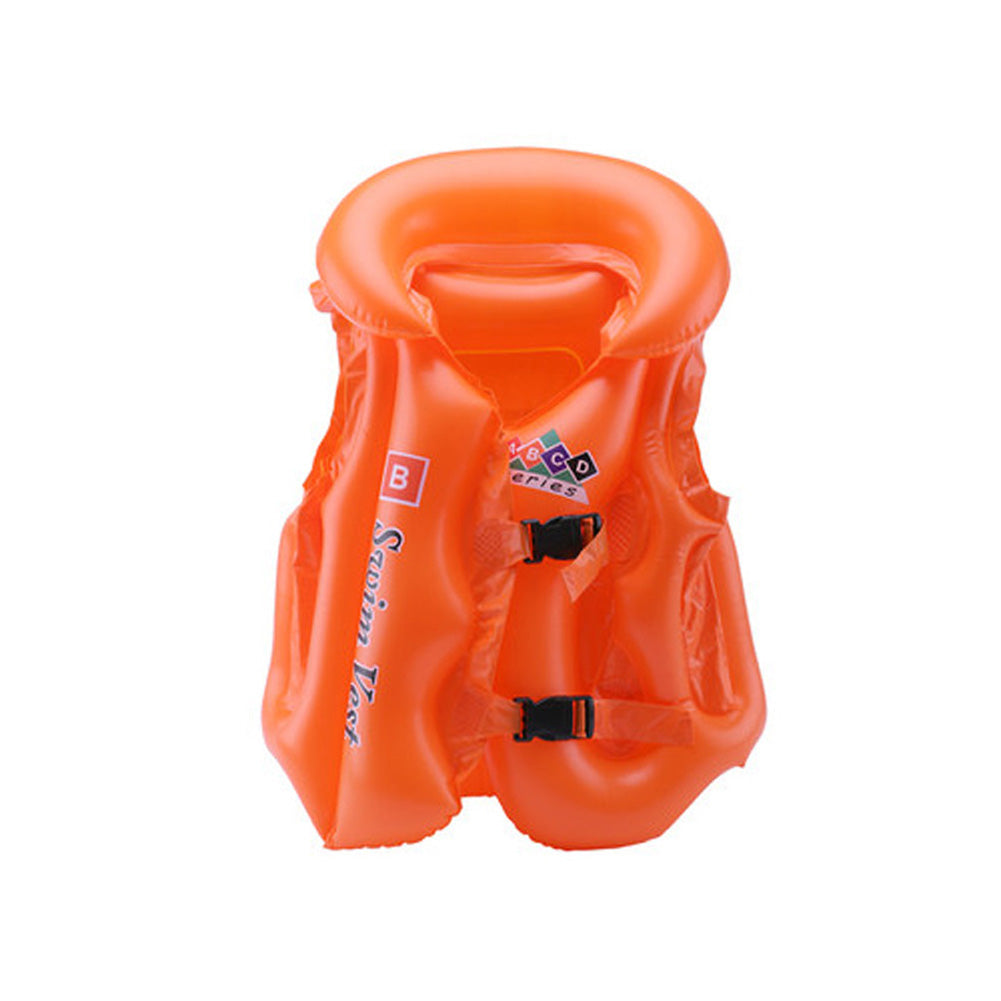 Adjustable Children Kids Babies Inflatable Pool Float Life Vest Swiwmsuit Child Swimming Drifting Safety Vests B2C Shop