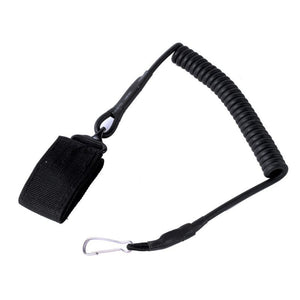 Airsoft Tactical Single Point Pistol Handgun Spring Lanyard Sling Quick Release Shooting Hunting Strap Army Gear