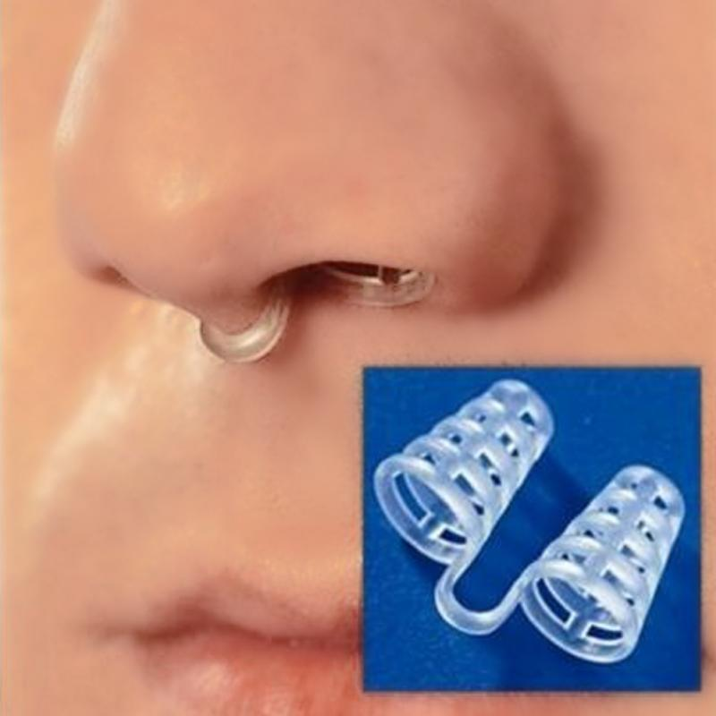 Antihrap Silicon Anti Snore Ceasing Stopper Anti-Snoring Nose Clip Health Sleeping Anti Snoring and Apnea Stop Snoring