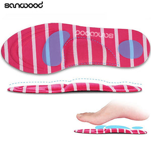 Arch Support Orthotic Massage High Heels Sponge Anti Pain Shoe Insoles Cushions