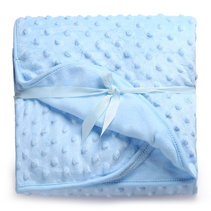 Baby Blanket Newborn Thermal Soft Fleece Blanket & Swaddling Bedding Set