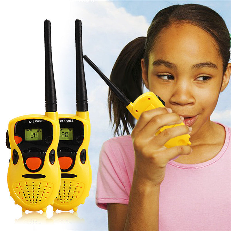 Baby Handheld Walkie Talkies Toys Kids Educational Games Children's Gifts Talkie-Walkie Toys High Quality
