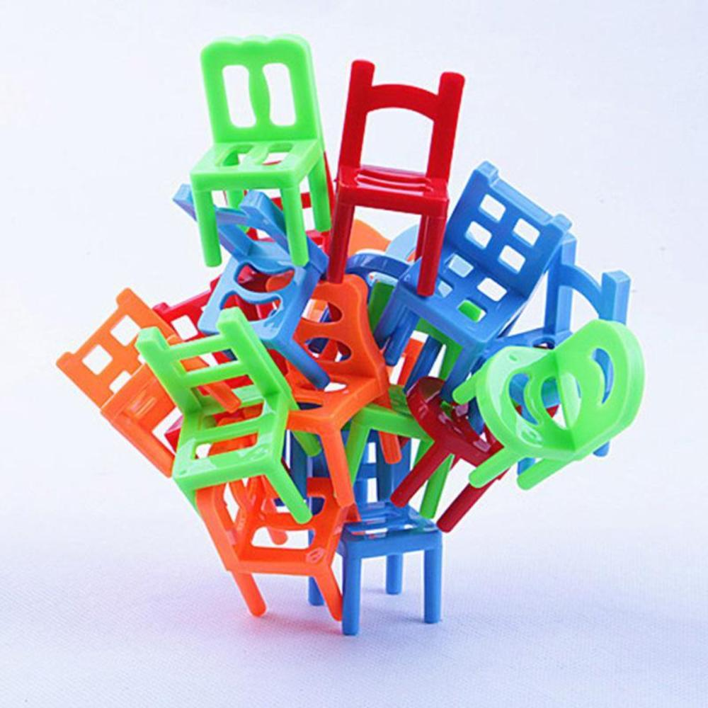 """Balance Chairs"" Board Game Children Educational Toy Balance Toy Puzzle Board Game Environmental Protection ABS Plastic - Cerkos.com"