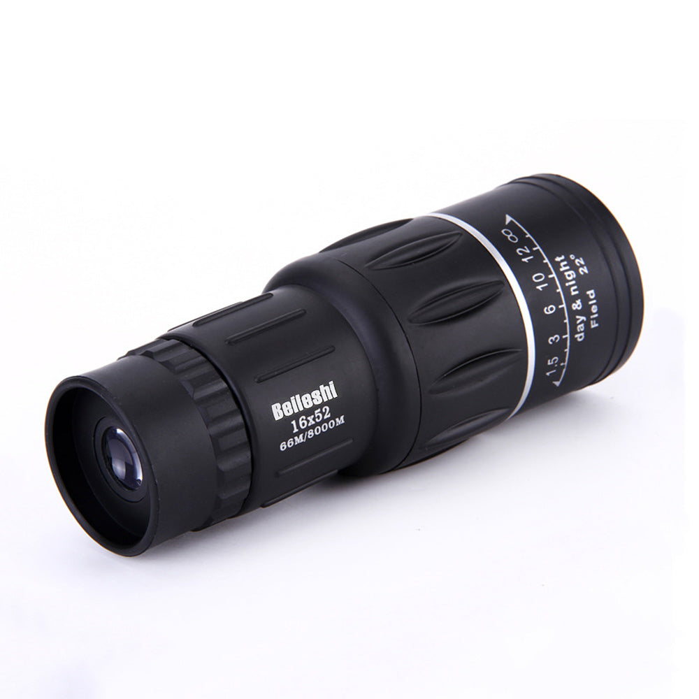 Beileshi 16 x 52 Mini Monocular Telescope Dual Focus Clear Vision Powerful Telescopio Monocular For Outdoor Activities