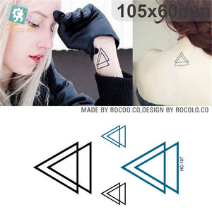 Body Art Waterproof Temporary Tattoos Paper For Men And Women