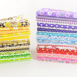 Booksew cotton fabric Free shipping 50 pieces/lot 20cmx25cm charm pack patchwork bundle fabrics tilda cloth sewing DIY tecido