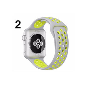 CRESTED BRAND sport Silicone strap for apple watch band 38 mm bracelet wrist band watch watchband For iwatch nike 3/2/1