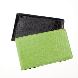 CRESTGOLF Promotion Price Popular Golf Score Card Holder Easy Carry Golf Gifts With Green and Black for Choice