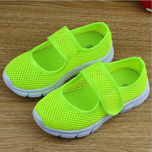 Candy Color Summer Breathable Mesh Children Shoes Single Net Cloth Kids Sports Shoes Casual Boys Shoes Girls Sneakers