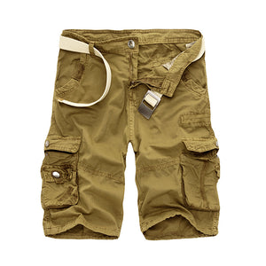 Cargo Shorts Men Cool Camouflage Summer Hot Sale Cotton Casual Men Short Pants Brand Clothing Comfortable Camo Men Cargo Shorts
