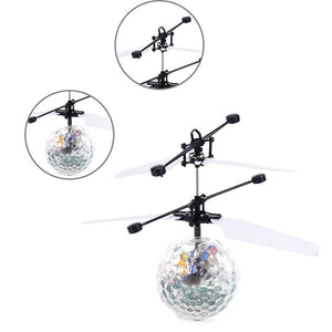 Colorful Flyings RC Toy EpochAir RC Flying Ball Drone Helicopter Ball Built-in Shinning LED Lighting for Kids Teenagers