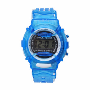 Criancas relogio Paradise 2017 Boys Girls Children Students Waterproof Digital Wrist Sport Watch Wristwatches Kinder Uhr May31