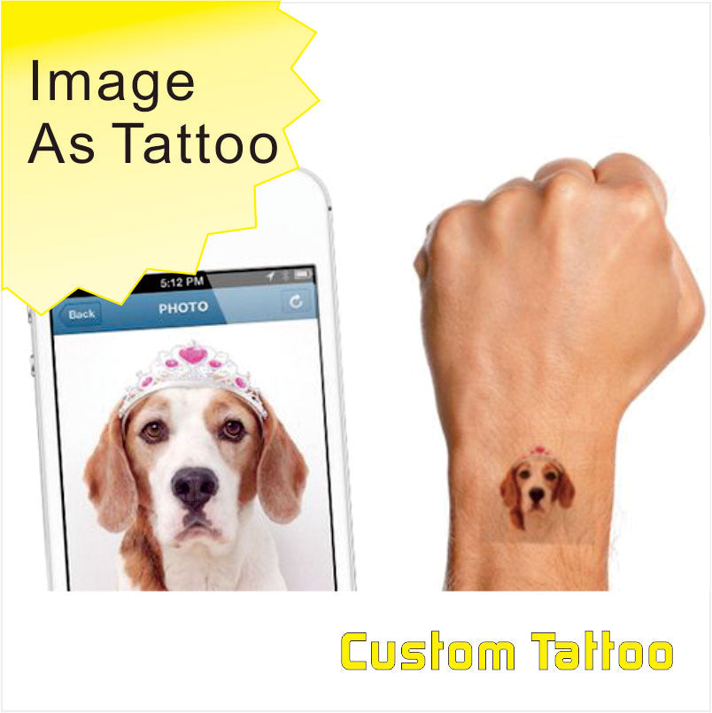 Customize Your Image Photo Picture As Tattoo you can make your own ...