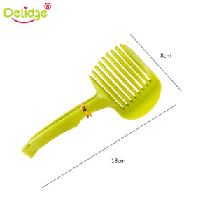 Delidge 1pc Tomato Slicer Fruits Cutter Stand Tomato Lemon Cutter Utensilios De Cozinha Assistant Lounged Shreadders Slicer