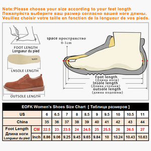 EOFK 2017 High Quality Fashion Women Flats Loafers Casual Leather Shoes Woman Loafer Slip On Shoes For Women Moccasins slipony