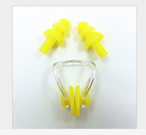 Factory direct swimming nose clip nose clip nose clip earplug earplugs suit swim earplugs B1