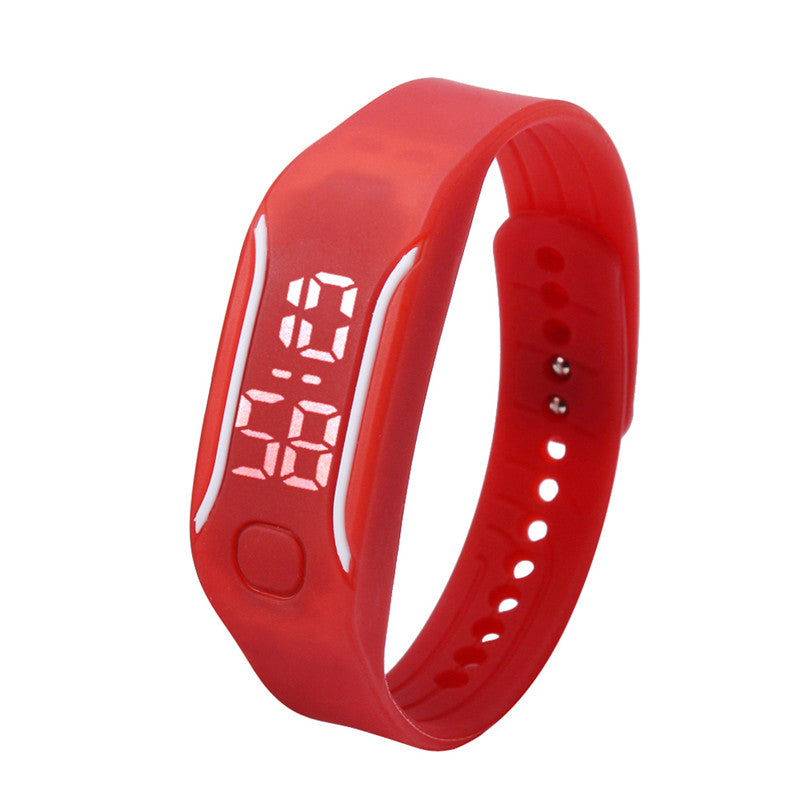 Fashion LED Digital Sport Watches Silicone Rubber Running Watch Date Time Men Women Unisex Bracelet Wrist Watches Cheap Price