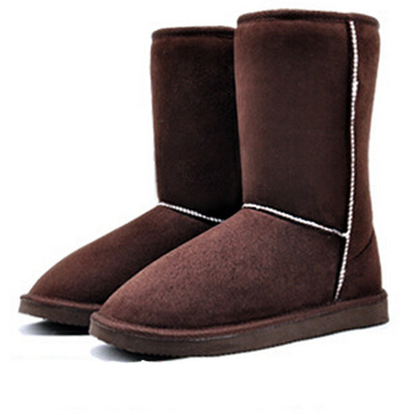 Fashion Women Winter Snow Boots Warm Mid-calf Boots Winter Soft Shoes Flat Shoes platform boots female sapato feminino RD871406