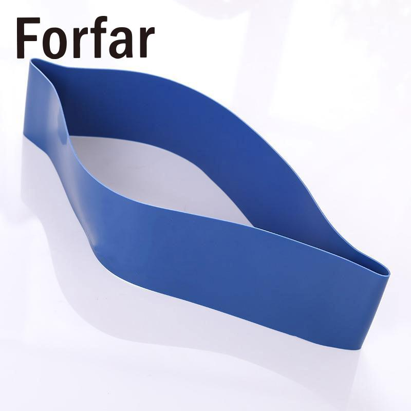Forfar Tension Resistance Band Exercise Loop Blue Crossfit Weight Training Fitness Unisex 0.7mm Sport Equipment