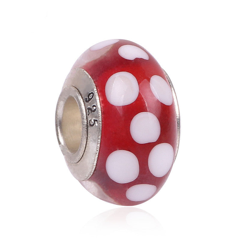 Free Shipping 1Pc Silver Bead Charm European Charms Beads Long Tube Family Charm Fit For Pandora Bracelet