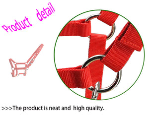 Free shipping horse halter,metal eyelet,Sponge inside cushion makes it soft and comfortable (RLT2005)