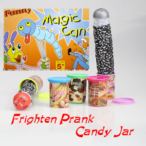 Funny Toys Tricks Frighten Candy Jar Jump Out With Voice Strange Jar Play Special Sweet Jokes Tricks Fun Toys For Children Kids