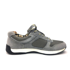 Genuine Leather with Mesh Men Casual Shoes, New Arrival Leather Men Shoes, High Quality Outdoor Shoes Men Zapatos Hombre
