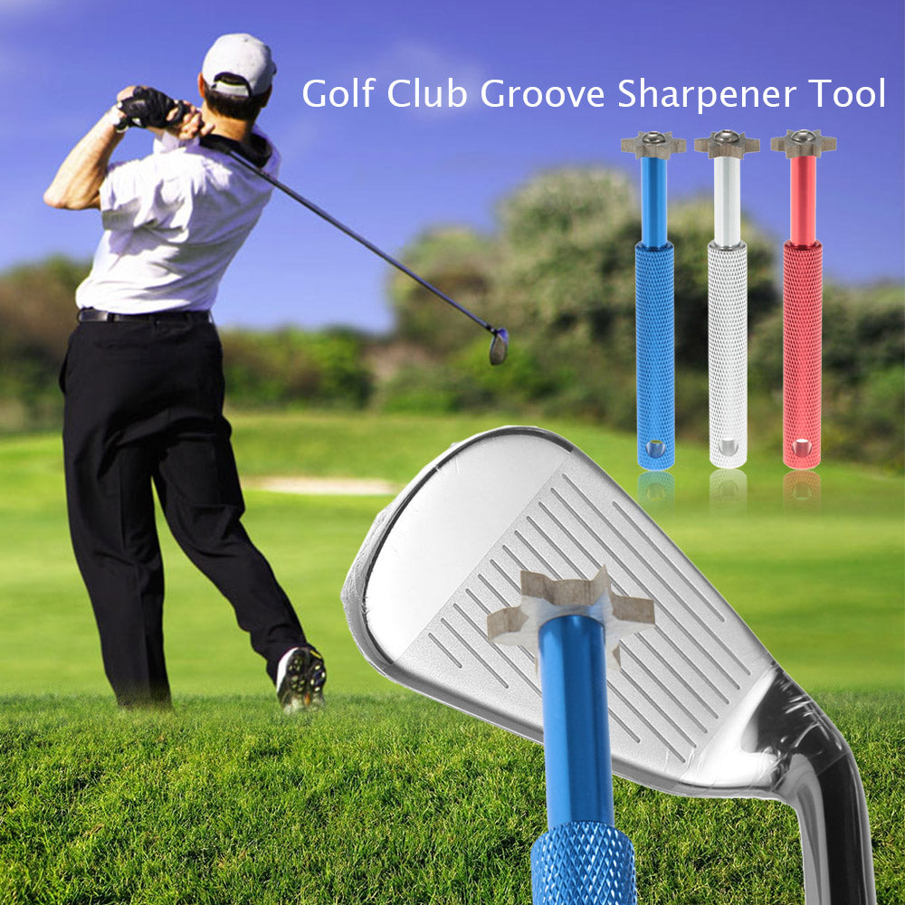 Golf Accessories Golf Club Sharpener Golf Groove Wedge Cleaner V U Blade Cutters Head Iron Grooves Cleaning Tool Drop Shipping