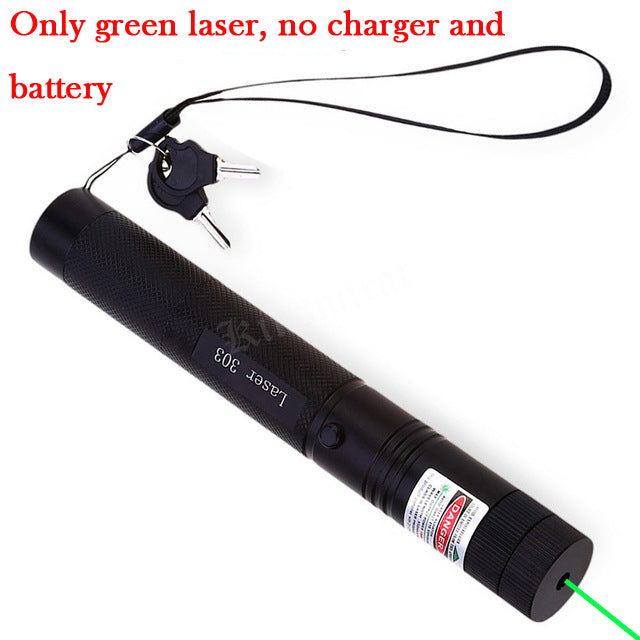 Green Laser sight High Power hunting Green Dot tactical 532 nm 5mW 303 laser pointer verde lazer Pen Head Burning Match