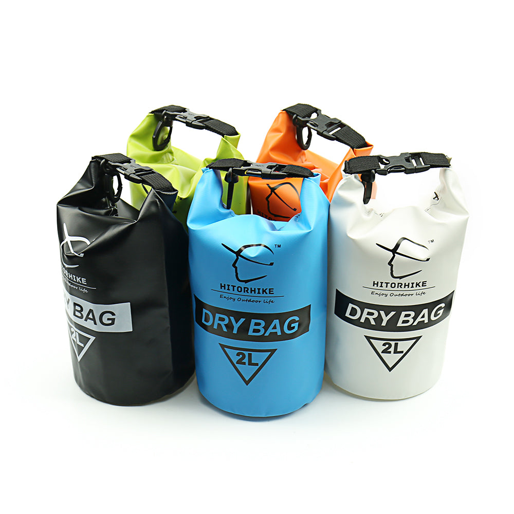 HITORHIKE 2L Waterproof Dry Bag Outdoor Swimming Camping Rafting Storage Bag 6 Colors