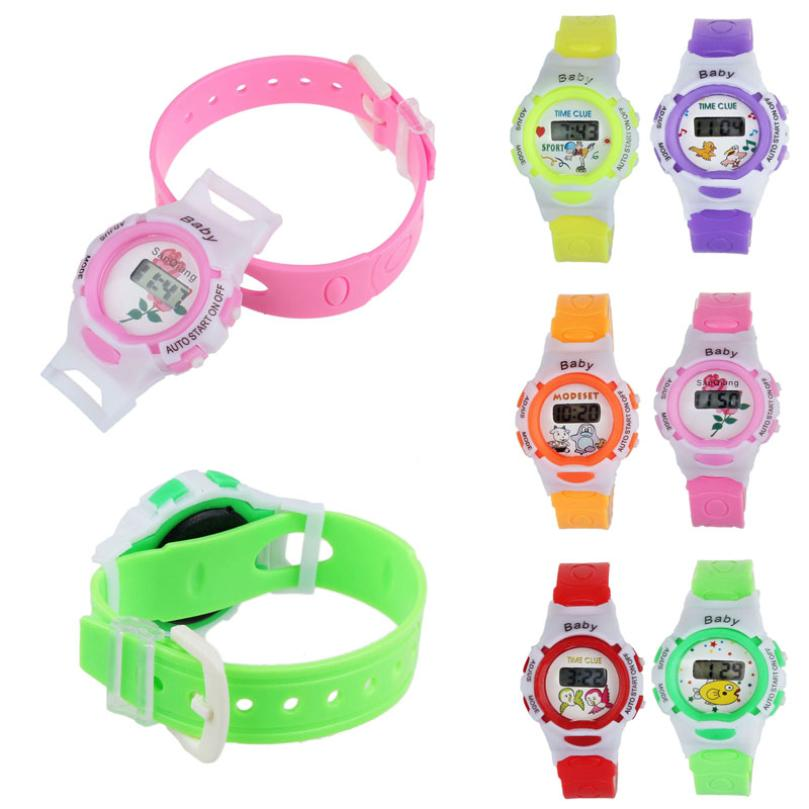 HOT Horloge New Desigh hot sale Colorful Boys Girls Students Time Electronic Digital Wrist Sport Watch 2017may10