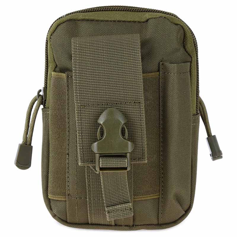 HOT SALE 1000D Tactical bag Molle Oxford Waist Belt Bags Wallet Pouch Purse Outdoor Sport Pack EDC Camping Hiking Bag 10 colors