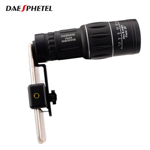 High Definition Telescope 16x52 Dual Focus Optic Lens Monocular Scope Binoculars Multi Coating Lenses Day Vision