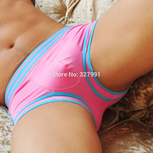 High quality cotton man brand fashion underwear boxer short trunk sexy low waist 3D Ucrotch panties underpants Free shipping
