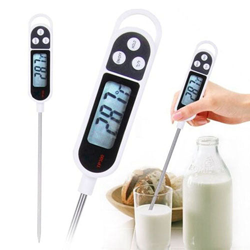 Hot Items New arrival Digital Food Thermometer BBQ Cooking Meat Hot Water Measure Probe Kitchen Tool 6RXS
