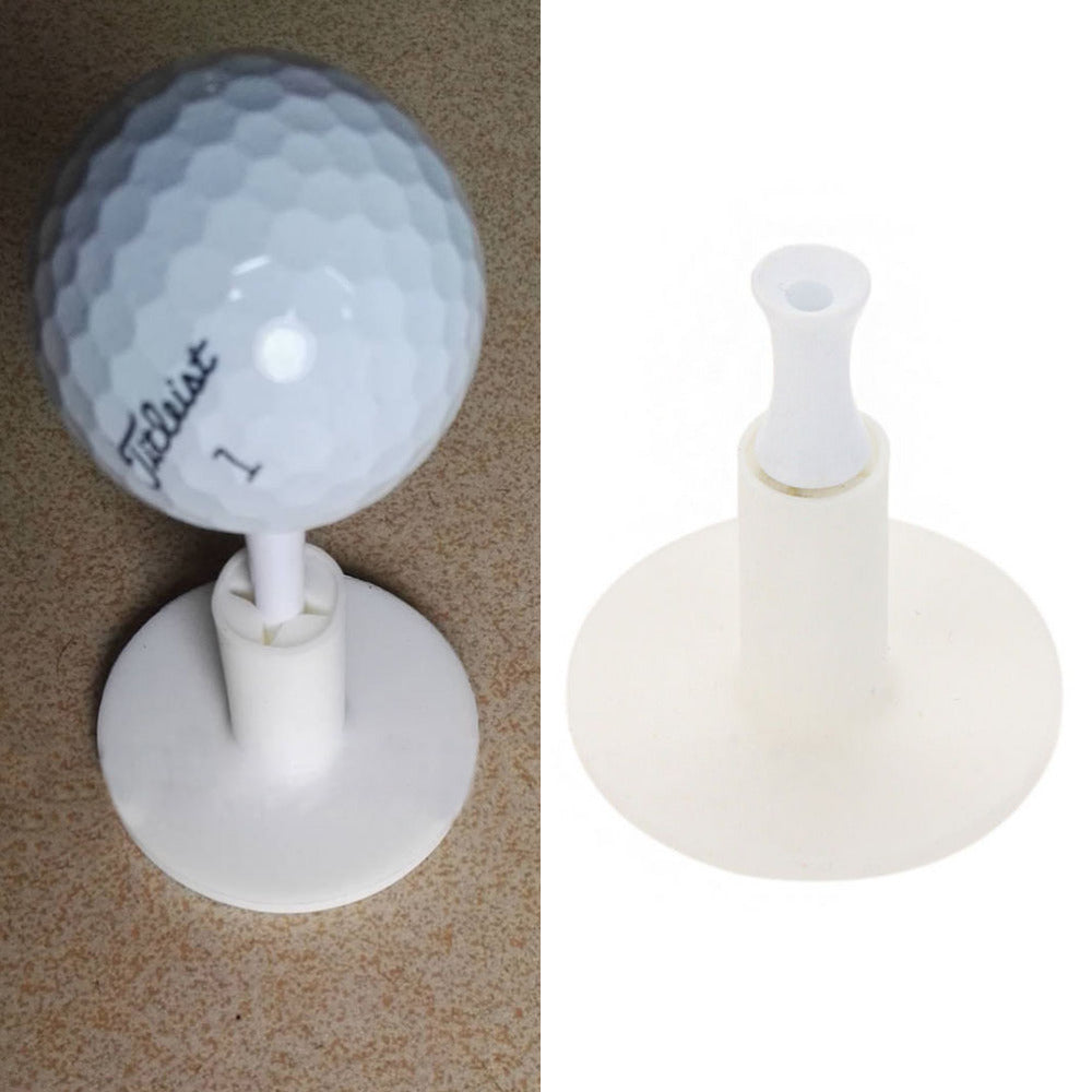 Hot sale Rubber Golf Tee Holder Training Practice Tee Mat Golf Ball Hole Holder Beginner Trainer Practice