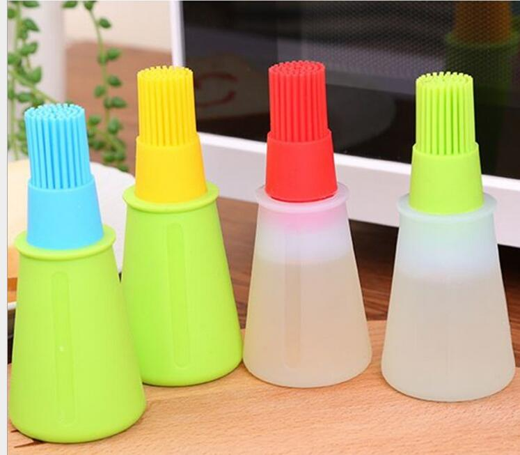 Hot sale Silicone Oil Brush Baking Brushes Liquid Oil Pen Cake Butter Bread Pastry Brush BBQ Utensil Safety Basting Brush